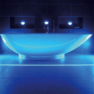 Badezimmer referenzen korona lichtberatung lichtplanung - Lichtplanung badezimmer ...